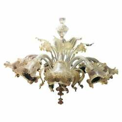 Murano Chandelier 12 Arms Made IN Italy
