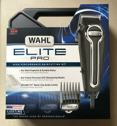 BRAND NEW Wahl Elite Pro Clippers Complete Hair Cutting Kit #79602 $69.95
