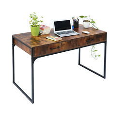 Computer Desk PC Laptop Table Study Workstation Wood Home Office wDrawers $139.99