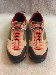 Vasque 7319 Grand Traverse Hiking Women#x27;s Shoe Taupe Coral Size 11 M $53.00