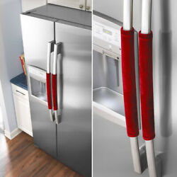 2PCS Refrigerator Door Protect Handle Covers Home Fridge Microwave Oven Cover $6.61