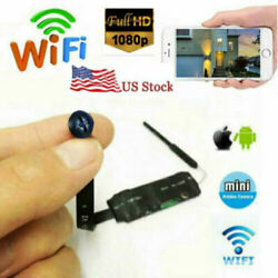 1080p 4k WIFI ip wireless HD spy mini pinhole hidden DIY black Screw camera dvr $34.99
