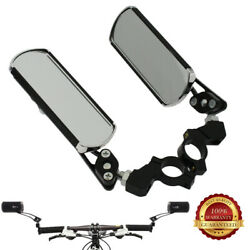 Bike Classic Rear View Mirror Handlebar Safety Rearview 2Pcs USA STOCK $12.99
