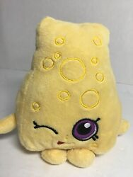 "Plush Shopkins Toy Chee Zee Licensed Kids  6""  Stuffed Animal EUC $4.95"