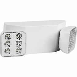 Lighting LED Emergency Lights Ultra Bright White With Back up Battery Lamps $38.48