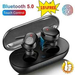 TWS Bluetooth 5.0 Wireless Earphones Stereo Headset Mini In Ear For Android IOS $6.28