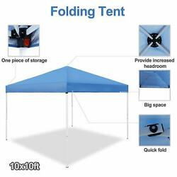 Pop-Up Foldable Waterproof with Carring Bag Canopy Tent 10 x 10 FT Outdoor Party $47.97