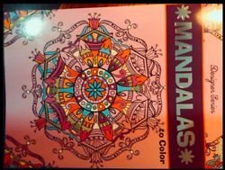 MANDALAS TO COLOR DESIGNER SERIES ADULT COLORING BOOK Stapled USA Kappa 30 pages $3.40