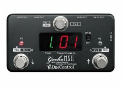 One Control Gecko MKII MIDI Switcher FREE 2 DAY SHIP $118.57
