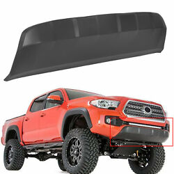FOR 2016-2020 Toyota Tacoma Front Lower Bumper Valance Panel Skid Plate Black $79.90