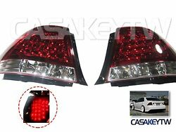 NEW LED RED CLEAR Tail Lights Rear For LEXUS IS200 IS300 1998 2005 ALTEZZA $239.00