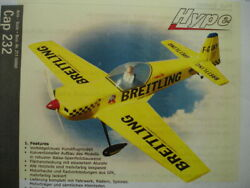 RC Wing for large plane model Hype CAP 232 Kyosho for nitro enigine or other $60.00