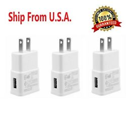 3 Pack 2AMP USB POWER ADAPTER WALL CHARGER For Universal SAMSUNG LG iPHONE $7.99