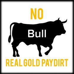 No Bull 5oz Gold Paydirt Concentrate. Guaranteed Gold Added. Gold Nuggets flakes $15.99