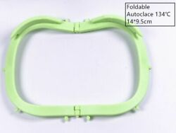Dental Frame Hager Rubber Dam Sheets Light Foldable X-Ray Film 134℃ Green Color $7.99