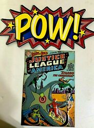 Justice League Comic Book Cover and Pow Metal Wall Decorations Signs $17.54