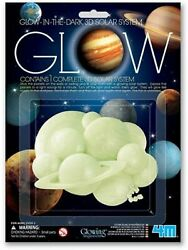 Glow In The Dark 3D Solar System Wall Stickers Room Decor STEM Science Planets $20.99