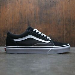 Vans Old Skool Black White Low Canvas Classic Skate Shoes FREE SHIPPING $61.99
