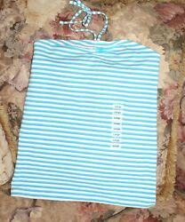 Green Dog Girls Size L Large Striped Halter Top New w Tags Blue Purple White *** $9.99