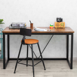 Computer Desk 55 inch PC Laptop Work Table Home Office Desk $99.99