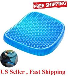 1 comfort  silicone Gel Flex Cushion Pad Seat Sitter Flex Pillow Back Support  $16.99