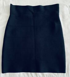 BCBGMAXAZRIA Black Work Cocktail Women Skirt Size M $16.00