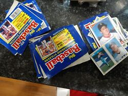 Baseball Card Yearbook Stickers 1987  Unopened Package W5 Stickers $35.00