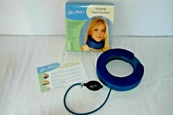 Dr. Bob's Neck Traction Device Cervical Portable Air Collar Size Med  $40.00