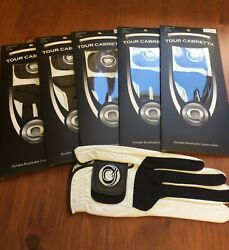 Brand new Cabretta Genuine Leather Golf Glove 5 Pack  $26.99