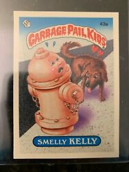 1985 Garbage Pail Kids Stickers #43A SMELLY KELLY (GLOSSY)...........EX-MT++ $12.07