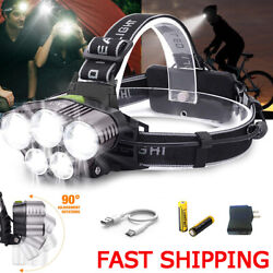 Super bright Flashlight 90000LM LED Rechargeable Shadowhwak Tactical Torch 26650 $18.99