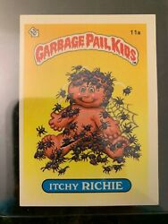 1985 Topps Garbage Pail Kids #11A ITCHY RICHIE (MATTE)......EX-MT++ $12.07