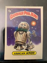 1985 Topps Garbage Pail Kids #13A ASHCAN ANDY (MATTE).....EX-MT $11.07