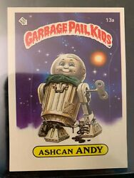 1985 Topps Garbage Pail Kids #13A ASHCAN ANDY (MATTE).....EX-MT++ $12.07