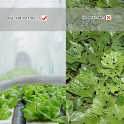 30/40gsm Plant Protection Netting Vegetables Fruit Greenhouse PE Pest Control $49.86