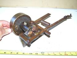 Old BELT DRIVEN Flyweight GOVERNOR Hit Miss Gas Engine Tractor Steam Oiler WOW $125.95