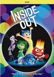INSIDE OUT DVD Movie BRAND NEW SEALED Walt Disney Pixar Family Film Animated $11.99