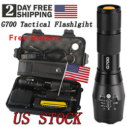 Camping Home Super bright 20000lm Tactical Flashlight CREE L2 LED Military Torch $19.99