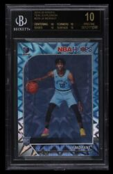 2019 20 Ja Morant Teal Explosion RC #259 BGS 10 Black Label *pop 1 $10000.00