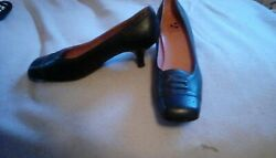 Womens Dress Shoes Leather Size 9 Black $30.00