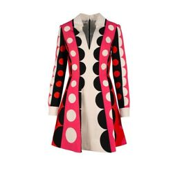 Polka Dot Dress Party Cocktail Size 4 Luxury Design $75.00