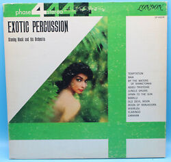 Exotic Percussion - Stanley Black - London Records  1961 $7.99