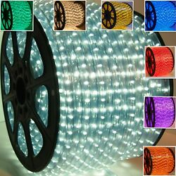 13 MM LED rope lights 2 wire Game room She Shed Man cave Patio Deck Holiday