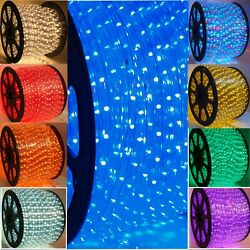 13 MM LED rope lights 2 wire Game room She Shed Man cave Patio Deck. Holiday