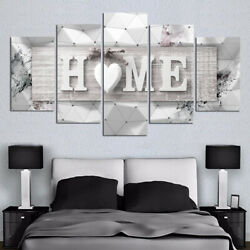 5pcs Modern HOME Canvas Oil Painting Wall Art Home Decor Picture Print Decor C $30.29