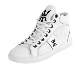 MIGGY MENS HIGH TOP SIZE 10 WHITE *BRAND NEW* $39.95