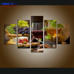 Wall Art Grapes Wines Fruits HD Print Painting Canvas Kitchen Office Home Decor $89.90