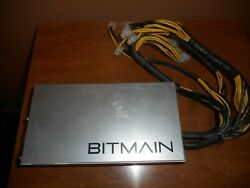 Bitmain Power Supply APW3 PSU for Antminer ASIC Miner S9 L3 D3 A3 T9 1600W $45.99