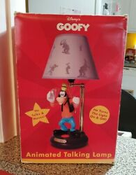 Goofy Animated Talking Lamp Vintage New Works Great Disney Light $159.99
