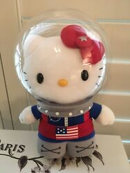 RARE PLUSH DOLL FIGURE  HELLO KITTY SPACE CAMP REACH FOR THE STARS ASTRONAUT TOY $35.00